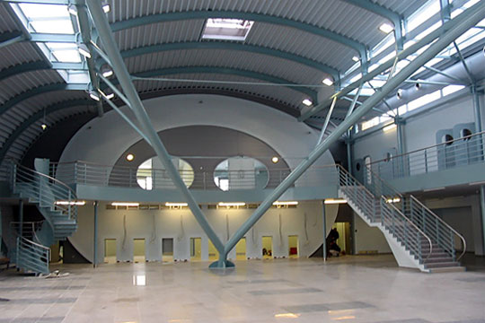nový terminál letiště Karlovy Vary