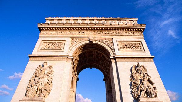Ilustrační foto - Francie, Paříž - Vítězný oblouk