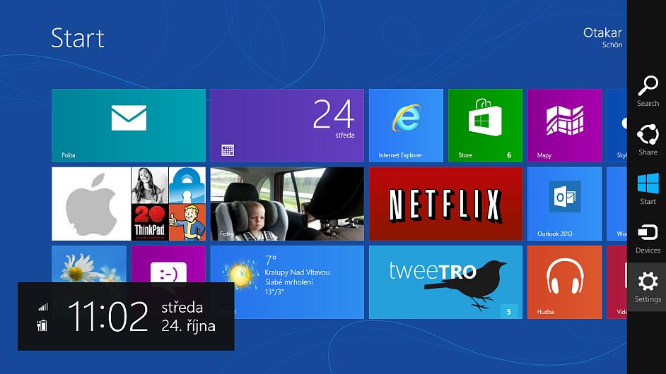 Windows 8: Nový operační systém od Microsoftu spojuje to dobré z tabletů i PC