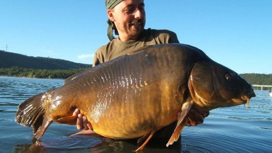 kapr 22 20 kg cassien Karel Nikl