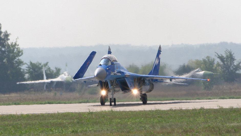 Stíhačka MIG-29K