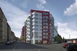 Projekt společnosti Geosan Development jménem Liberty Building v Praze Nuslích