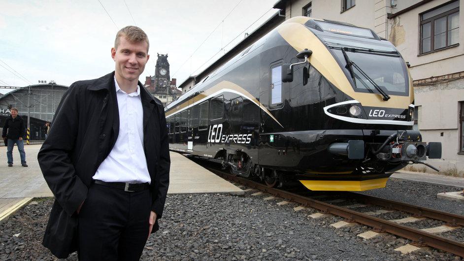 Šéf Leo Expressu Leoš Novotný