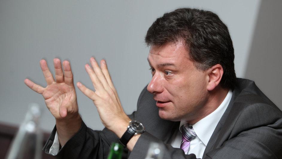 Ministr spravedlnosti Pavel Blažek (ODS)