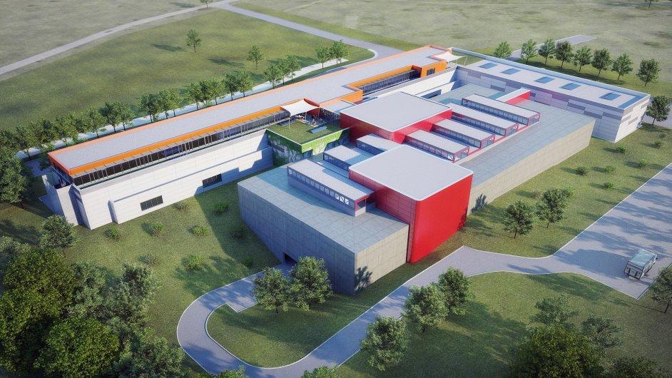 Areál vědecko-technologického parku, který má vzniknout v Milovicích