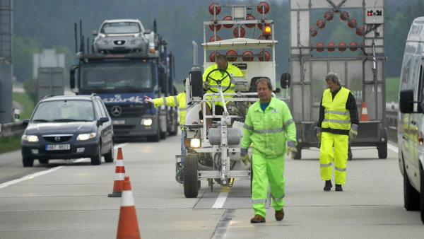 Rekonstrukce dálnice D1 se spustí o víkendu.