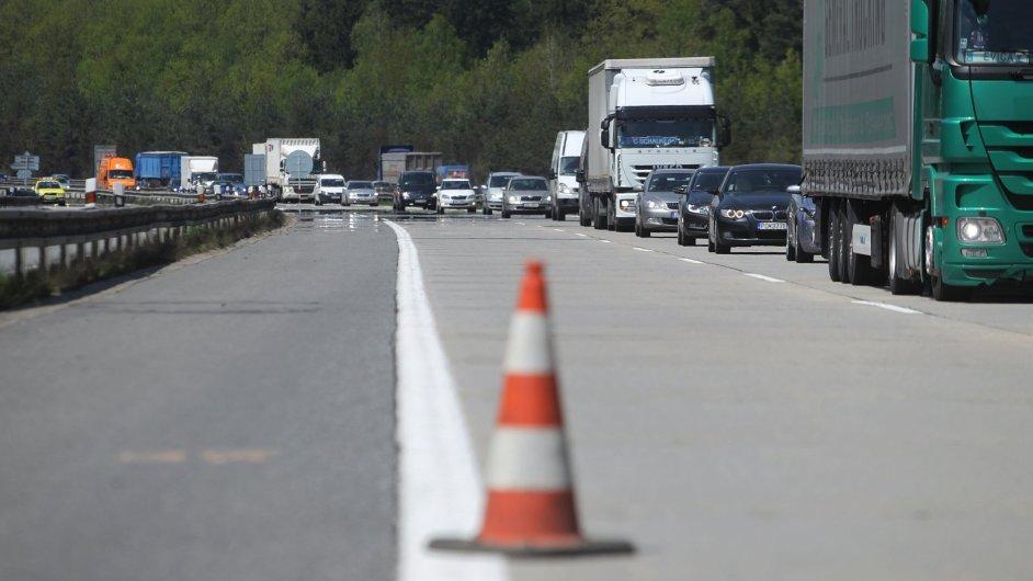 Rekonstrukce dálnice D1 - ilustrační foto