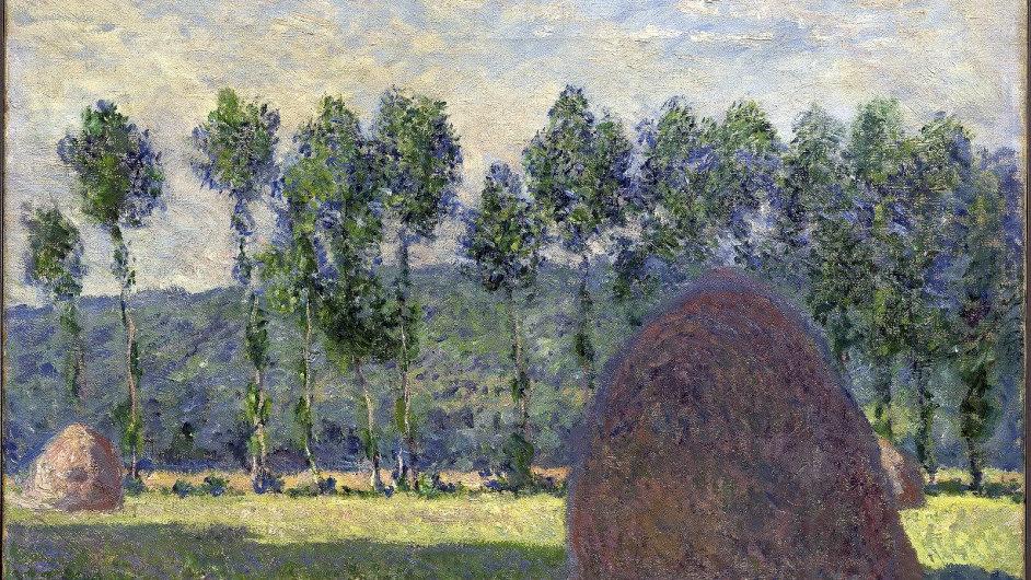 V knize esejů se píše i o Monetově obraze Meules effet du soir