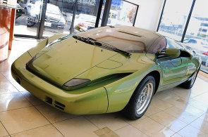 Ošklivé Lamborghini je dvacet let starý unikát. Prodává se za 65 milionů