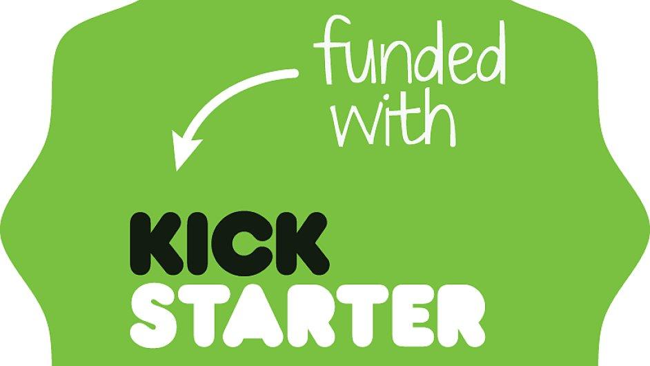 Kickstarter badge funded