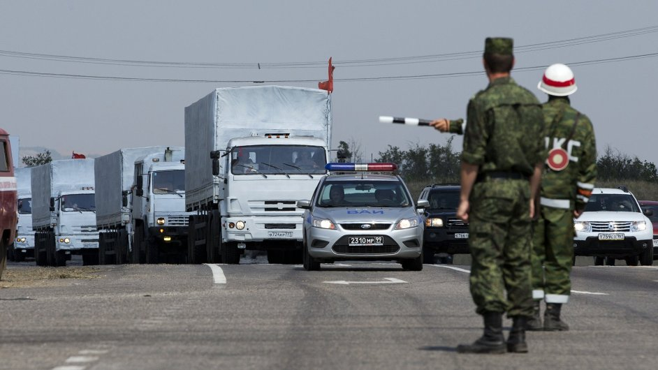 Hranice na pomezí Ruska a Ukrajiny