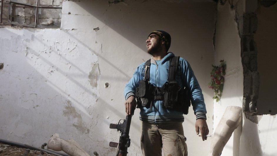 Válka v Sýrii, ilustrační foto