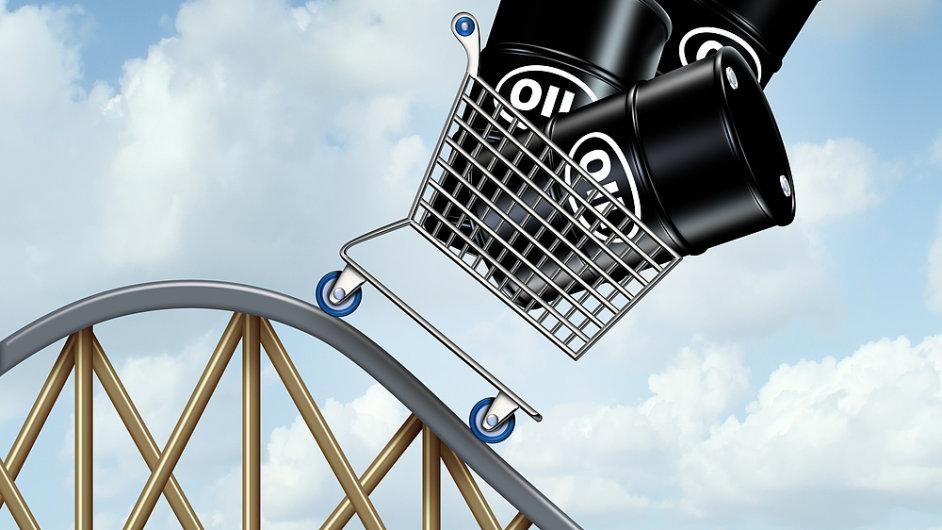 Vliv klesajících cen ropy se podle analytiků přelije do aktuální i příští výsledkové sezony. (Ilustrační foto)