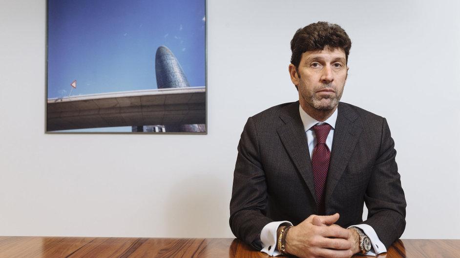 Giuseppe Nardi, generální ředitel italské stavební společnosti Serenissima Costruzioni