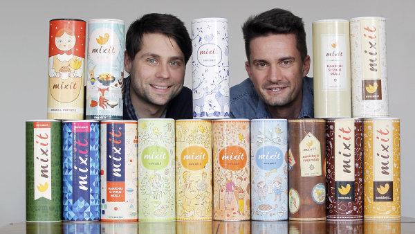 Tomáš Huber a Martin Wallner, zakladatelé Mixit.cz