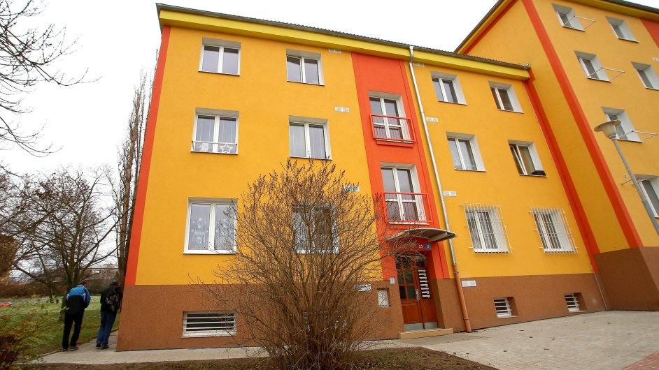 Projekt prostupného bydlení v Mostě zaměřený na zlepšení životních podmínek lidem žijícím v nevyhovujících podmínkách