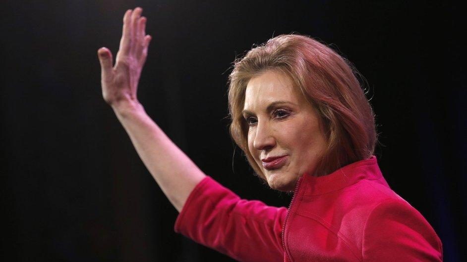 Bývalá šéfka přední světové počítačové společnosti Hewlett-Packard Carly Fiorinová možná bude kandidovat na prezidentku.