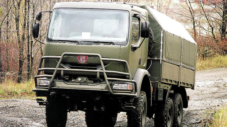 Armádní Tatra - Ilustrační foto.