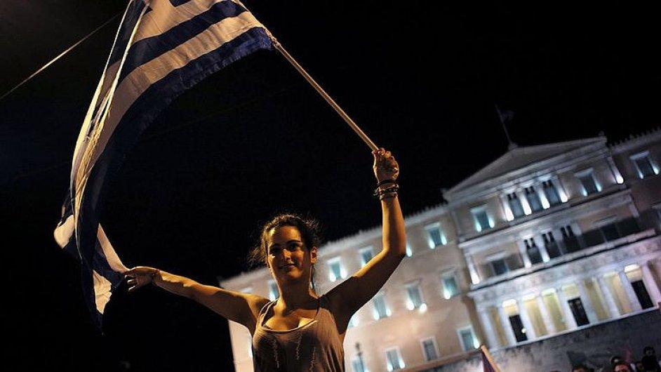 Řekové oslavují