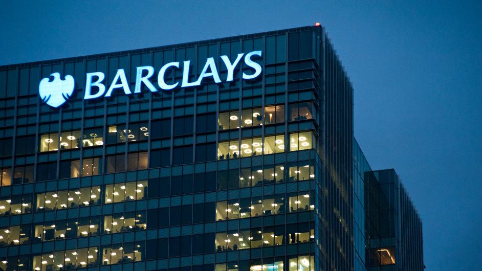 Britská Barclays se chystá propustit až 25 procent zaměstnanců.