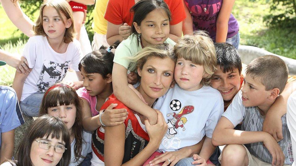 Tereza Maxová s dětmi, ilustrační foto
