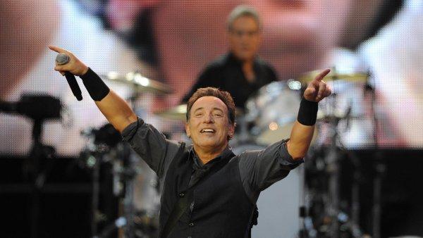 Bruce Springsteen na snímku z koncertu v červnu 2013 ve Španělsku.