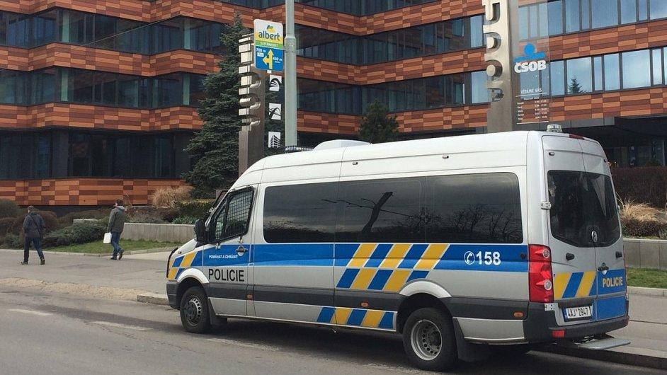 Policejní zátah v Sudop.