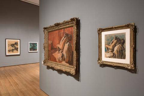 Sn�mek z v�stavy Edgara Degase nazvan� A Strange New Beauty.