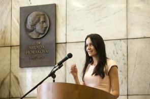 Náměstkyně ministra financí Lenka Jurošková na konferenci pořádané společností Economia zaměřené na dopady zákona o spotřebitelském úvěru