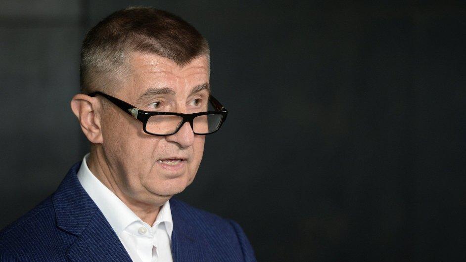 Předseda hnutí Ano Andrej Babiš vystoupil 12. června v Praze na tiskové konferenci k aktuální situaci ve vládní koalici.