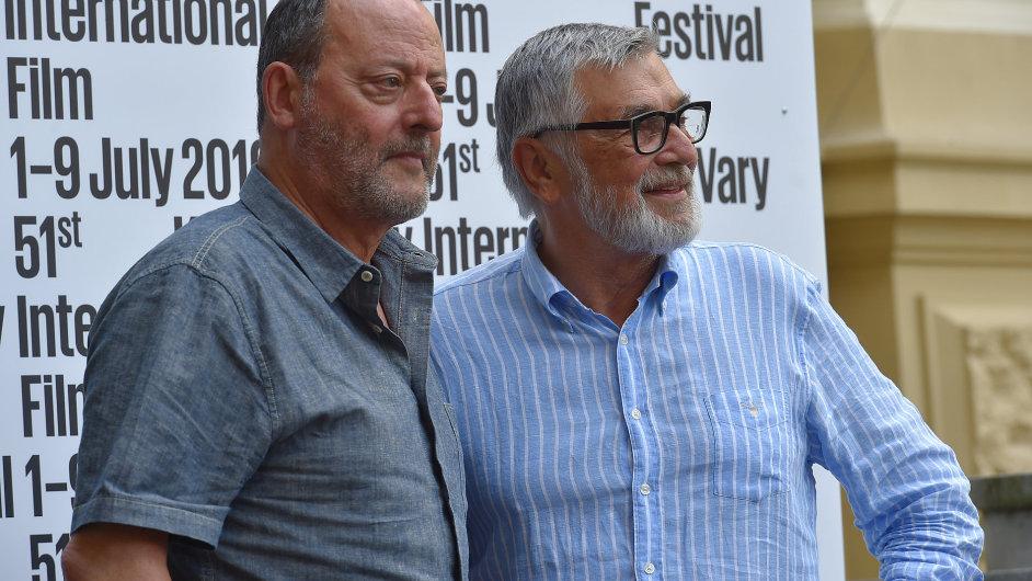 Snímek z festivalu v Karlových Varech