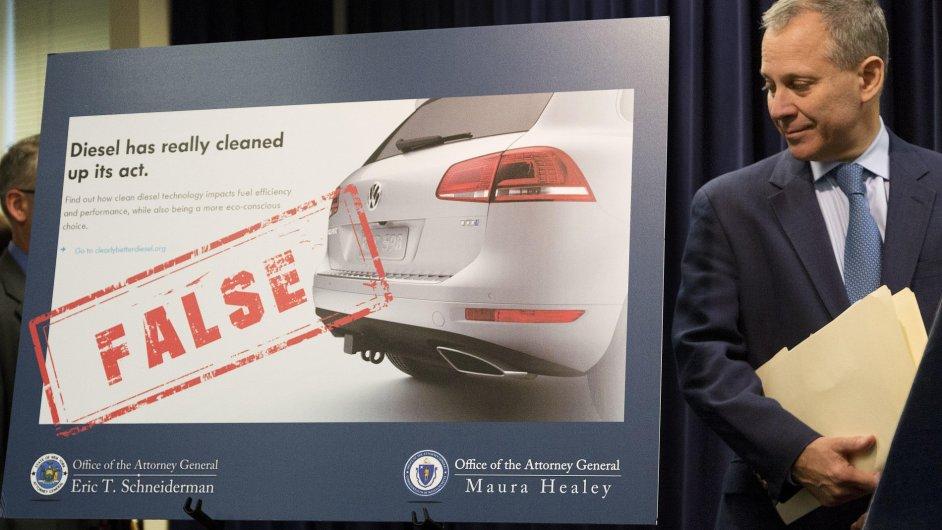 Volkswagen, dieselgate, Eric Schneiderman