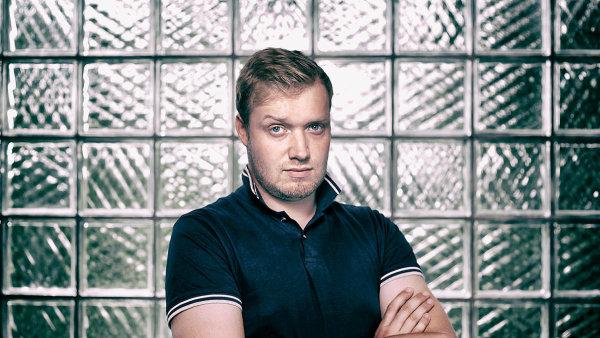 Vynálezce Marek Votroubek.