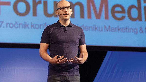 Rustam Ziganshin mluvil na Foru Media o spolupráci Facebooku s agenturními i přímými klienty.