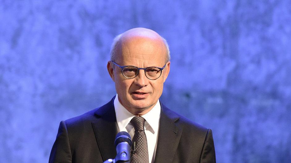 Michal Horáček svou prezidentskou kampaň zahájil přesně v 10 hodin a deset minut.