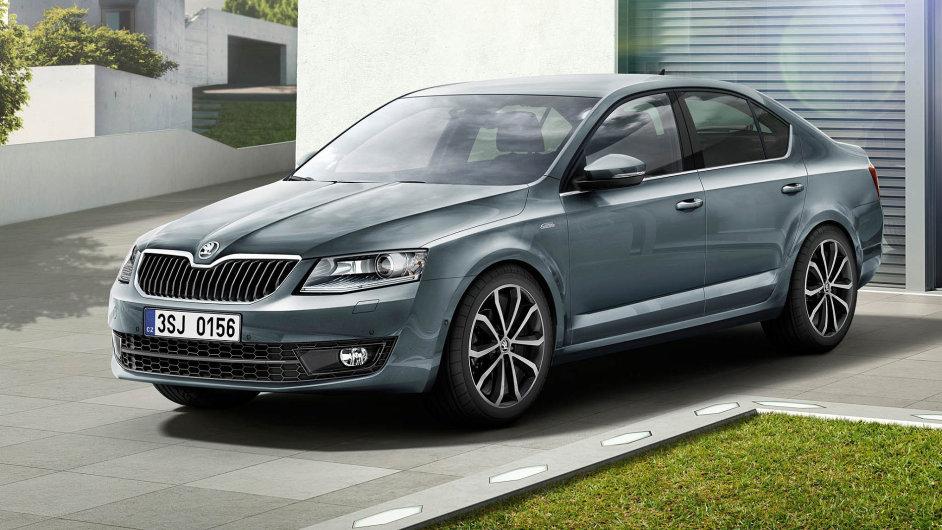 Nejkradenější značkou aut v Česku byla v roce 2015 Škoda, mezi jejími modely zloději nejčastěji sáhli po Octavii (na snímku nejnovější, třetí verze tohoto modelu)