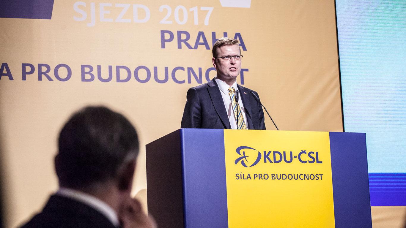 Volba předsedy KDU-ČSL