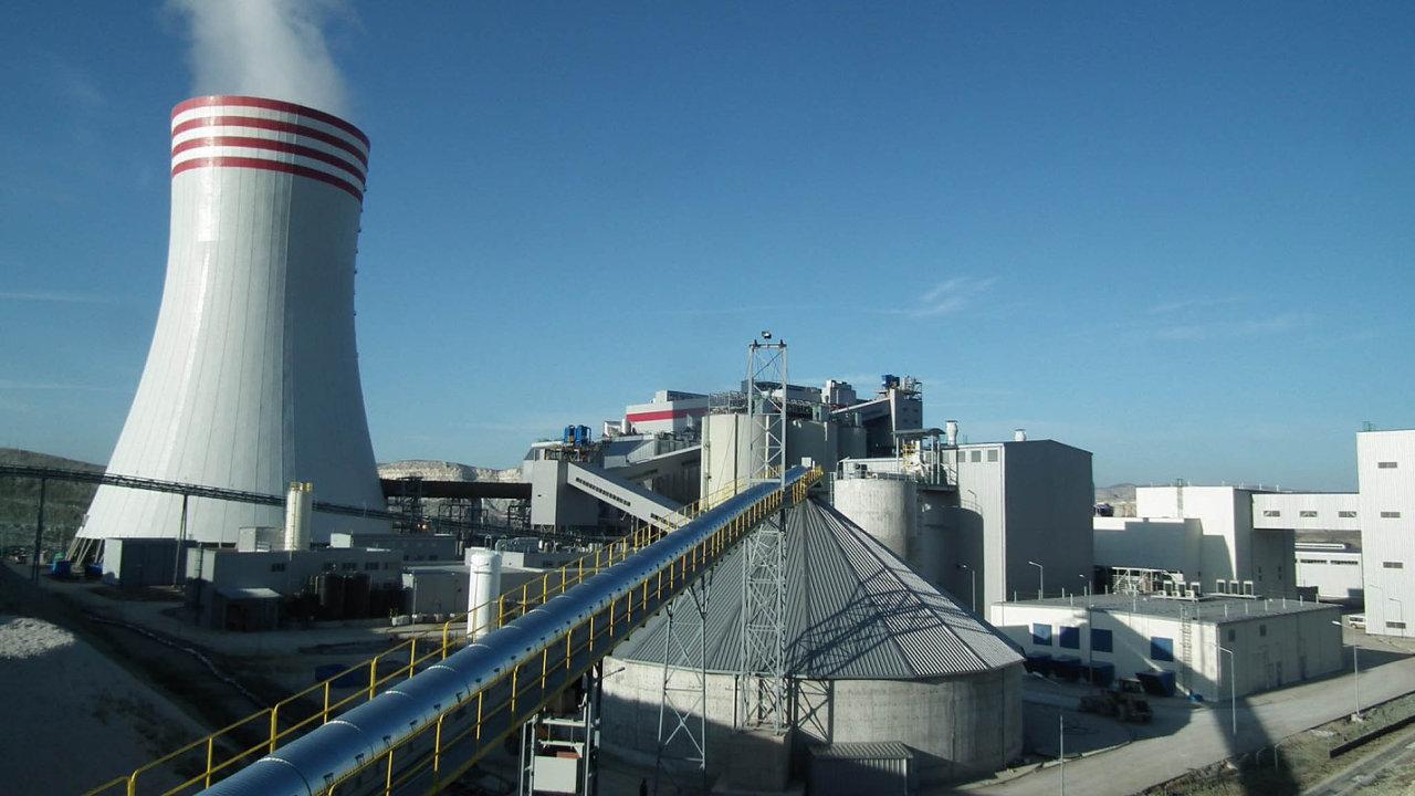 Elektrárna v turecké Adularyi