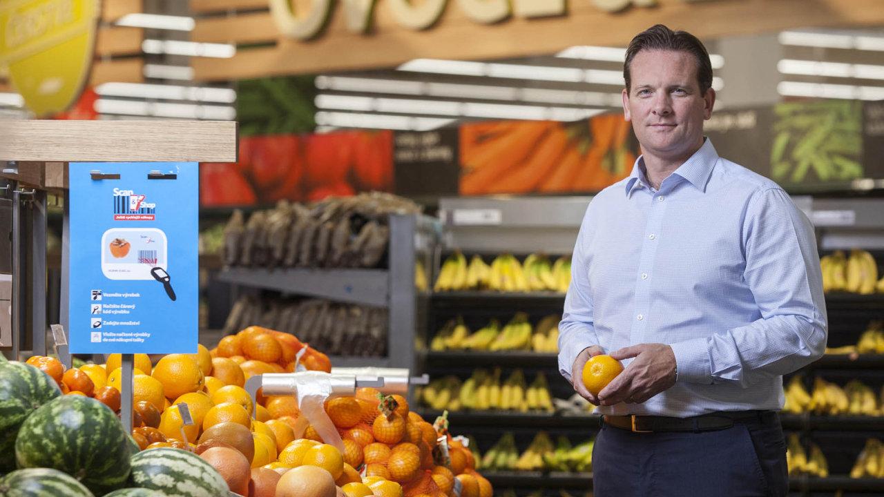 Matt Simister, ředitel společnosti Tesco pro střední Evropu.