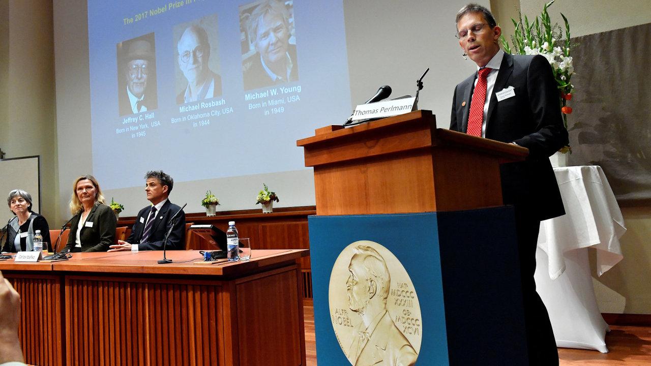 Nobelovu cenu za lékařství má trojice Američanů.