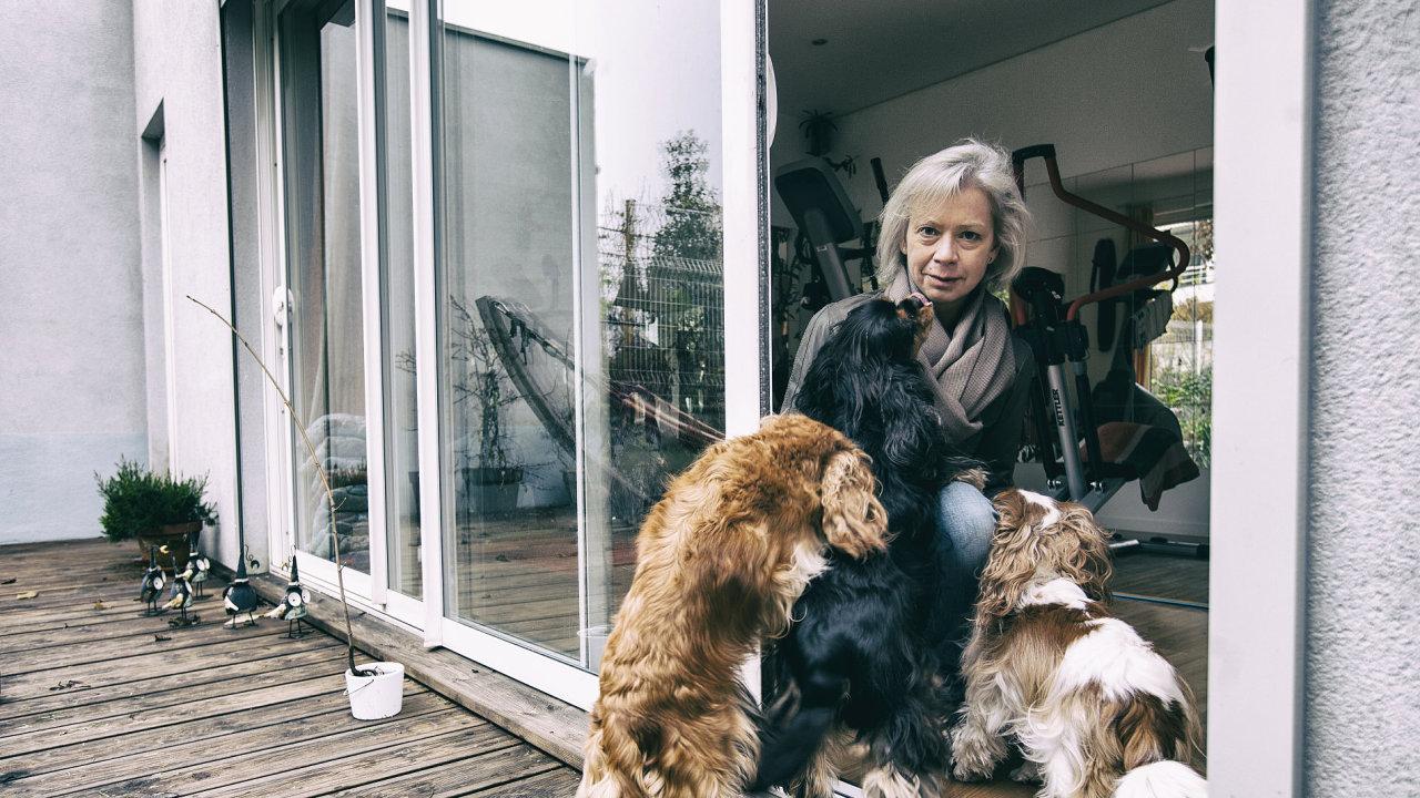 Právnička Eva Hubálková žije ve Štrasburku už čtvrtstoletí.
