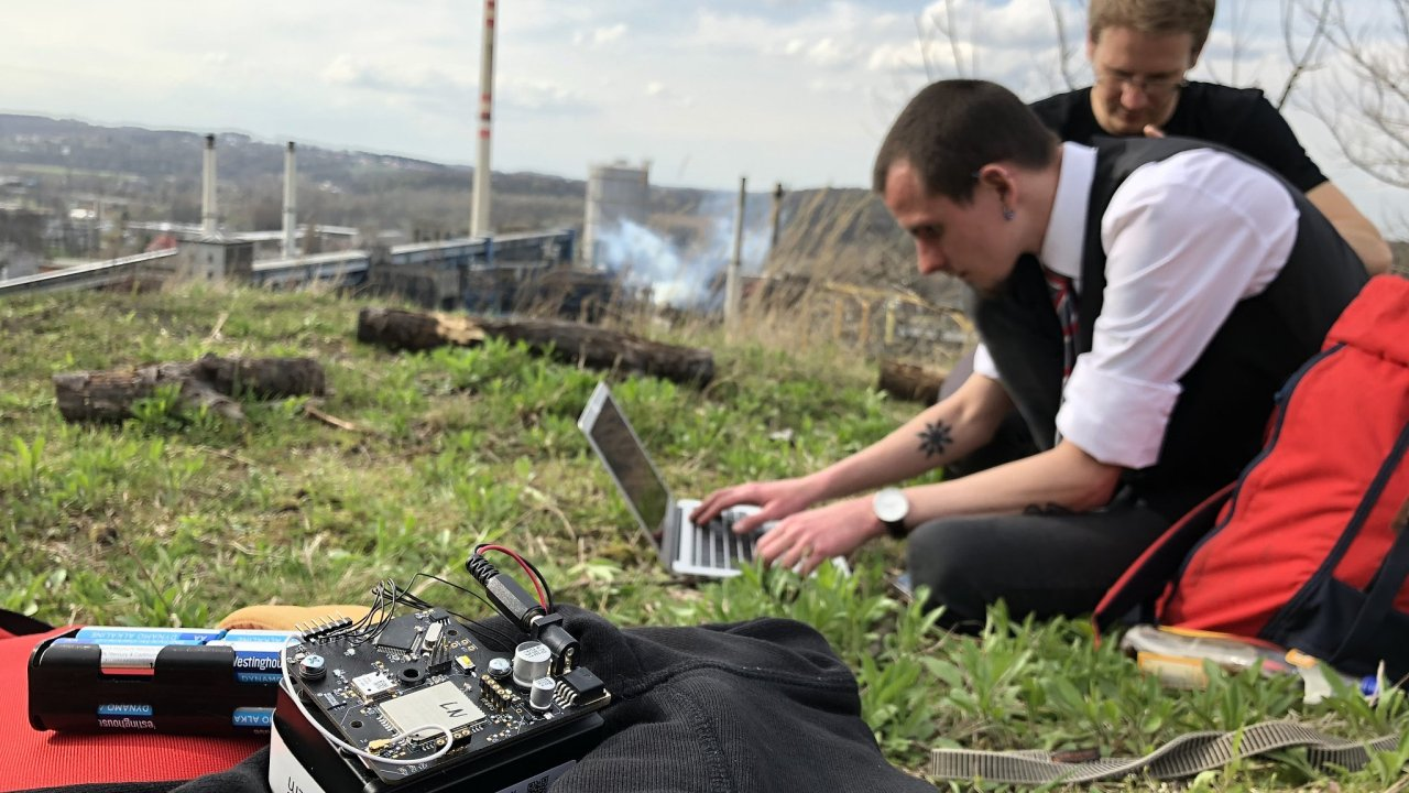 Projekt SenseNet pro měření znečištění ovzduší,