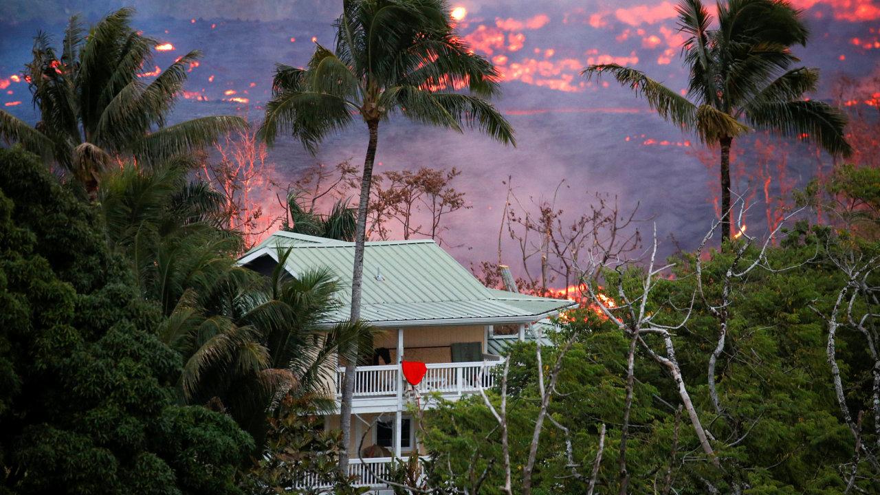 Své domovy už muselo opustit dva tisíce havajských občanů.