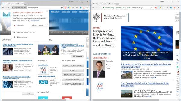Chrome více hlídá zabezpečení webových stránek