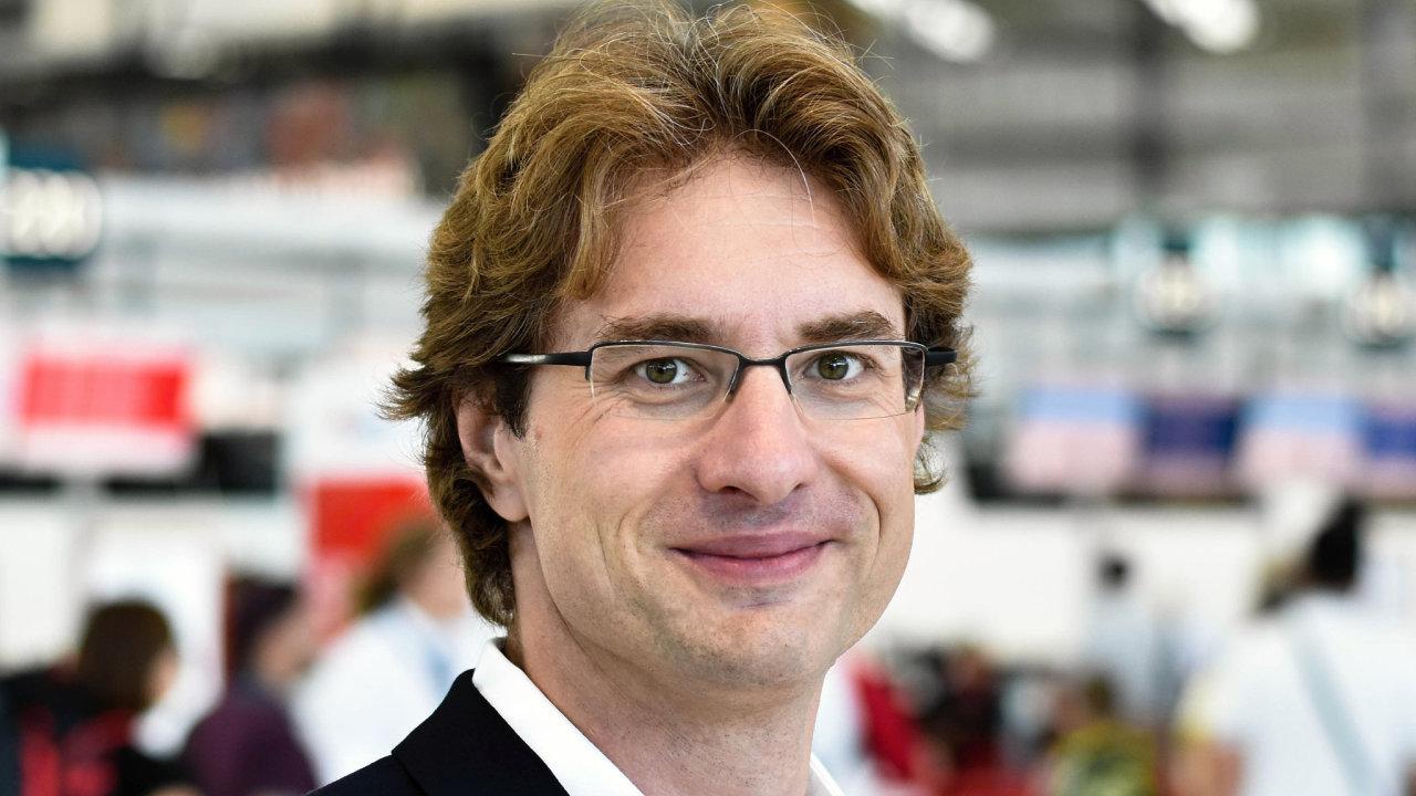 Filip Kopecký, ředitel rozvoje technologií Letiště Praha
