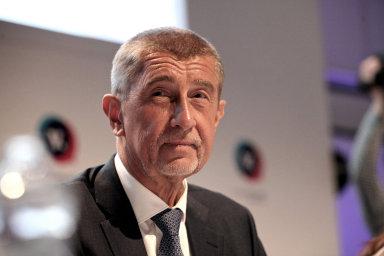 Andrej Babiš na sněmu ANO.