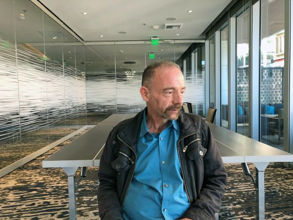 ***EMBARGOED*** **HFR FOR CARLA J. JOHNSON STORY*** Timothy Ray Brown poses for a photograph in Seattle on March 4