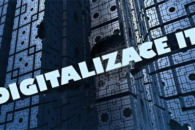 Digitalizace IT, ilustrace