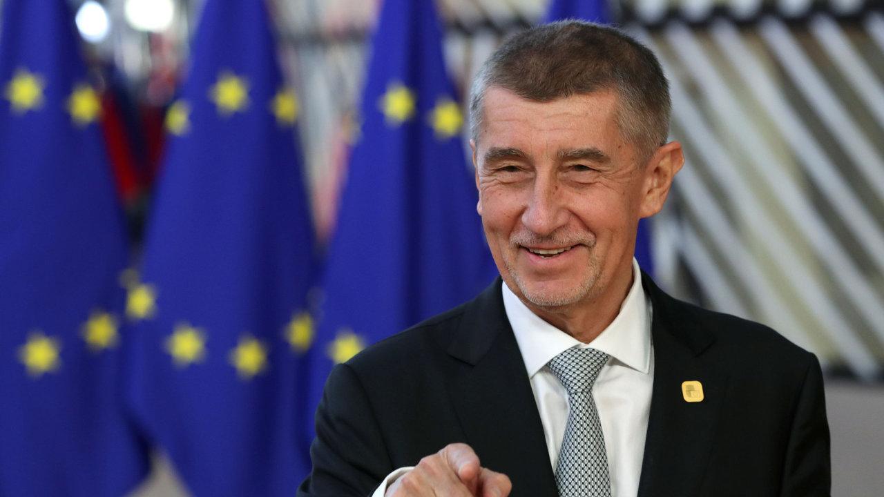 Andrej Babiš Brusel Evropská unie