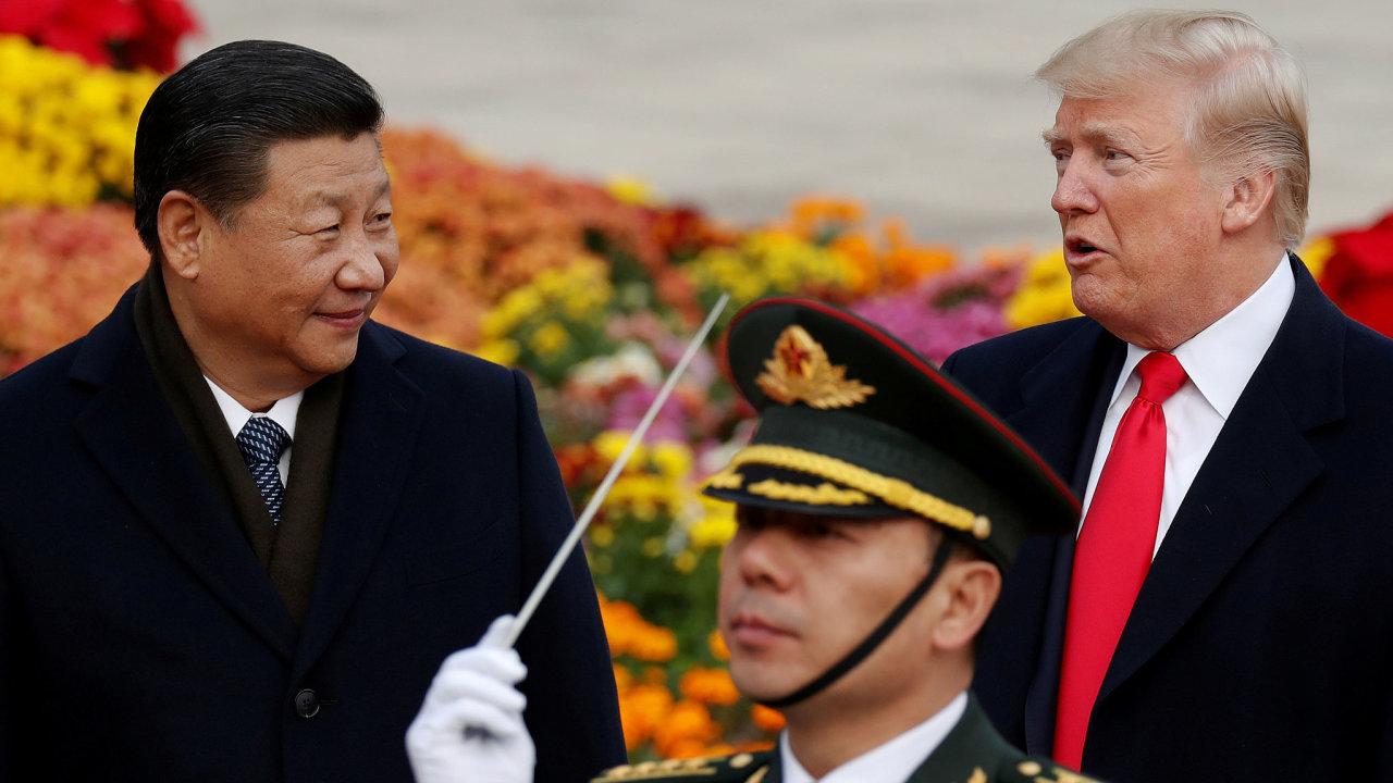 Donald Trump Si ťin pching